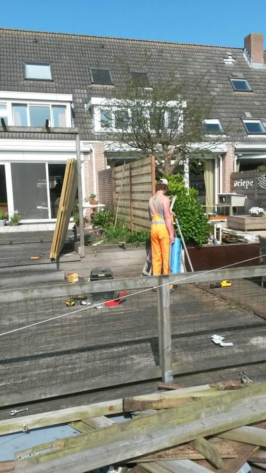 Tuin opnieuw laten bestraten Aalsmeer